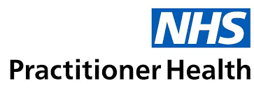 logo of the NHS practitioner health